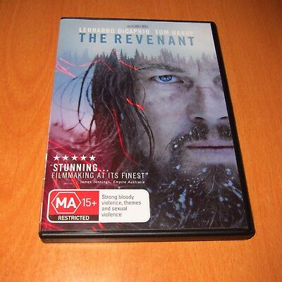 The Revenant ( 2015 , Dvd , Region 4 ) Leonardo Dicaprio * Like New *