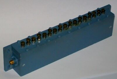 1 Ghz microwave bandpass filter BW 50 mhz