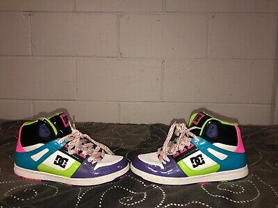 DC SHOES REBOUND High LE Womens Leather