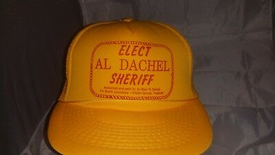 VINTAGE SHERIFF HAT THE LAWMAN Genuine Milan Brown 6 7/8