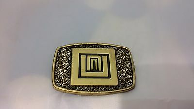 VTG 1981 Brass BTS Belt Buckle