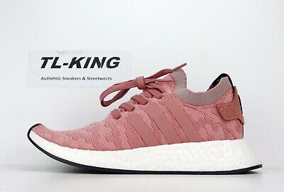 73e3836b6 Adidas Originals W Womens NMD R2 PK Boost Raw Pink White BY8782 Msrp  170 JE
