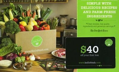 Hellofresh $40 Off First Order + Free Shipping - New Customers Only