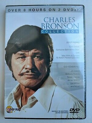 Charles Bronson Collection 2 DVD Set NEW Cold Sweat Lola Someone Behind The Door