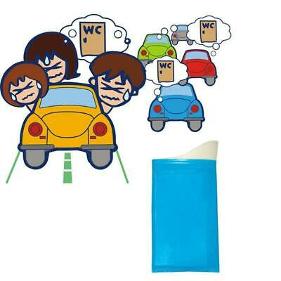 Kid Portable Mini Toilet Unisex Disposable Urinal Bag Quick Absorbent No Leaking