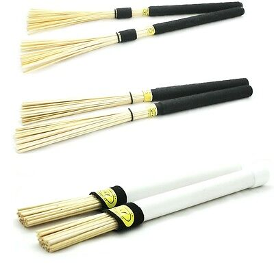 Professional Palisso Wooden Brushes, Hot Rods, Rutes, Drumsticks  - HANDMADE!