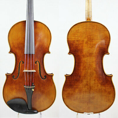 Master Performance!A Strad Viola Copy,17 inch,Aubert bridge! #5708 Aubert Bridge