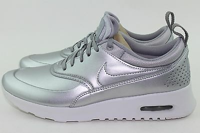 Nike Air Max Thea Special Edition Woman Size 6.5 Metallic Silver New Rare Style