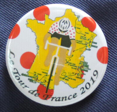 Pin Button Badge Ø38mm / Ø56mm Le Tour de France 2019 🚴‍♀🚴‍♂ #15