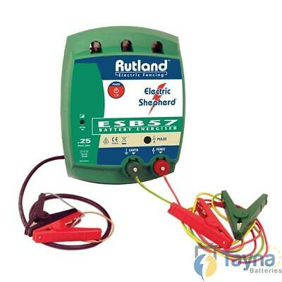 Rutland ESB57 Electric Fence Batterie Energiser