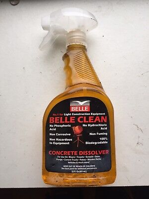 Belle Clean spray Concrete Dissolver 650ml