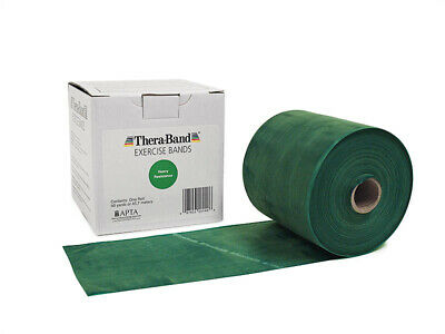1 Green Thera-Band, Theraband Resistance Band, 6 Feet + Free Shipping !