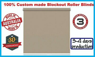 100% Blockout Roller / Holland Blinds Custom Made - Made in Melbourne