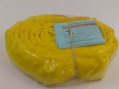 Twintex Polyester Round Sling E90 X 6Ft Yellow
