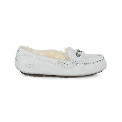 5d6c0a60a Ugg Florencia Grey Violet Crystal Suede Sheepskin Womens Slippers Size Us 7  New