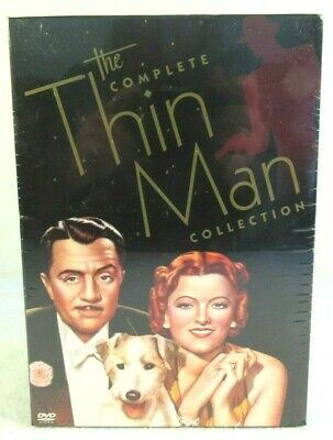 The Complete Thin Man Collection 7-Disc 2005 DVD Box Set Powell Loy New Sealed
