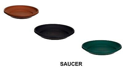 Plastic Round Plant Flower Pot Base Saucer Plate Tray Water Planter Tray