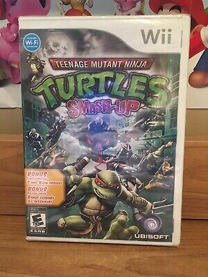 Teenage Mutant Ninja Turtles: Smash-Up (Nintendo Wii, 2009) Sealed