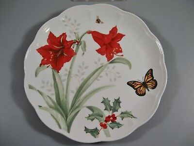 Lenox Butterfly Meadow Holiday Dinner Plate Monarch NEW