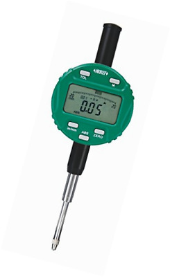 "INSIZE 2104-25 Digital Indicator, 25.4 mm/1"", Resolution 0.01 mm/0.0005"", Lug Ba"