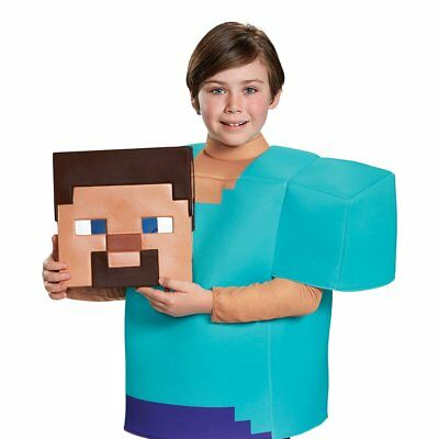 Disguise Armor Classic Minecraft Costume Blue Large 10-12