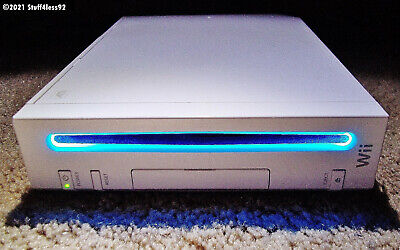 Replacement Nintendo Wii White Console System Popular Games Installed