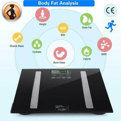 180KG Body Weighing Scales Electronic Fat Weight Loss Bmi Analyser Bathroom