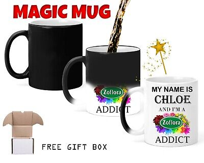 Personalised Zoflora Addict Magic Mug Name Funny Mug Cup Gift Birthday White Mug
