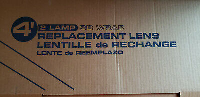 Ceiling Light Fixture Diffuser 4 Ft Wide Body Cover Replacement Fluorescent Lens