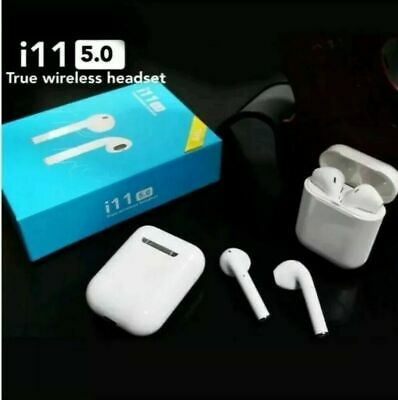i11 TWS Wireless Earphones Bluetooth 5 Touch Headset TWIN Earbuds Pods