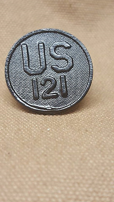 29th 30th WWI US NG 115th Regiment Collar Disk 40th Divisions