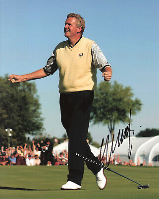 COLIN MONTGOMERIE Signed 8x10 Photo PGA Golf Autographed Photograph