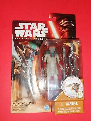 STAR WARS CONSTABLE ZUVIO  THE FORCE AWAKENS  3.75in.BASIC ACTION FIGURE
