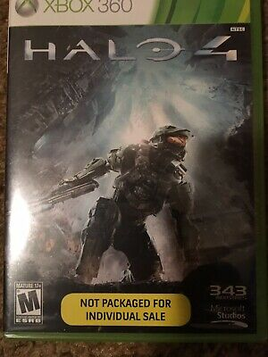 Halo 4 (Microsoft Xbox 360, 2012) New In Package and Sealed