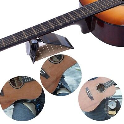 Portable Guitar Desktop Support Folding Stand Music Electric Ukulele Foot Stool