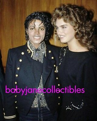 MICHAEL JACKSON NIGHTLIFE candid photo w BROOKE SHIELDS (109)