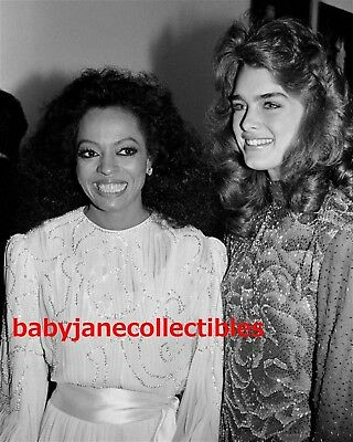 DIANA ROSS photo #2 with BROOKE SHIELDS 80s CANDID (106)