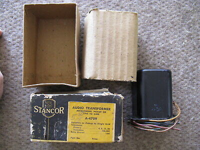 NOS Stancor A-4709 Audio Transformer - Microphone, Pickup or Line 1958-59 *.*