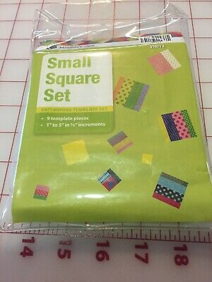 Matildas Own - Square Patchwork Template Small - Set of 9 - New