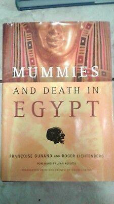 2 Books: Death and Burial in Ancient Egypt / Mummies and Death in Egypt