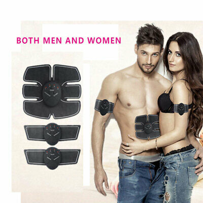 Muscle Trainer Suit 3-in-1 Electric Pulse Abdominal Wireless Muscle Stimulator
