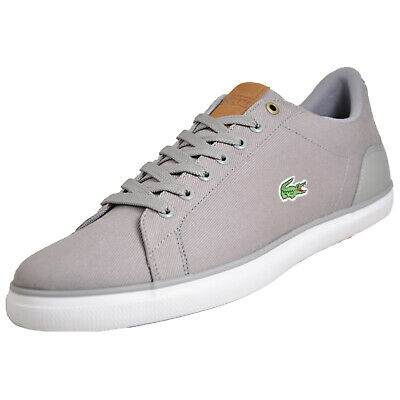 a2adf16c3 Lacoste Lerond Mens Classic Retro Trainers Plimsolls Grey B Grade Uk 10.5  Only