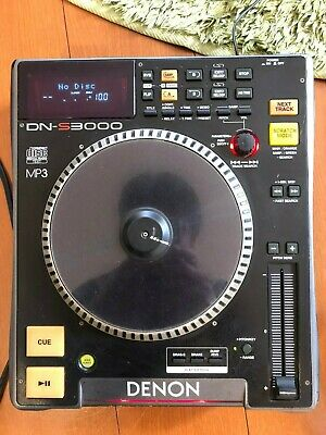 Untested AS-IS Denon DN-S3000 Table Top DJ CD / MP3 Player from Japan