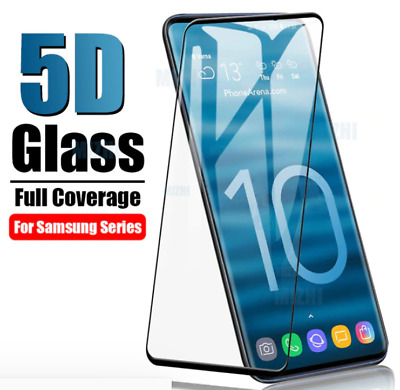 5D Screen Protector Protective Tempered Glas Glass Samsung Galaxy S10E S10 Plus