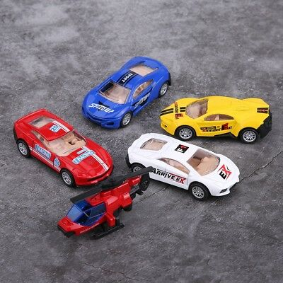 Vehicle Playsets Pull Back Car, 5 Pack Assorted Mini Cars Set, Christmas Toy Gif