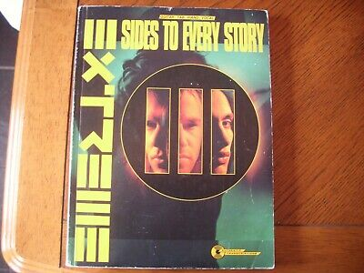 extreme three sides to every story guitar tab tablature songbook iii
