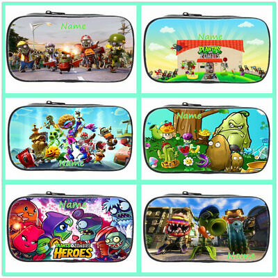 PLANTS VS ZOMBIES Personalised Pencil Case Tin Name Gift