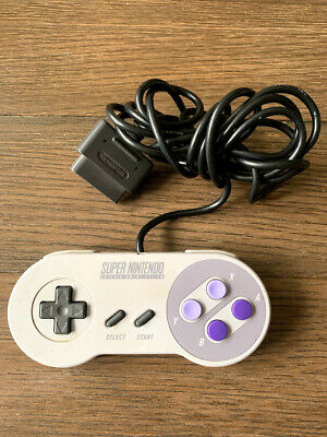Official Super Nintendo SNES Controller OEM TESTED *FREE FAST SHIPPING*