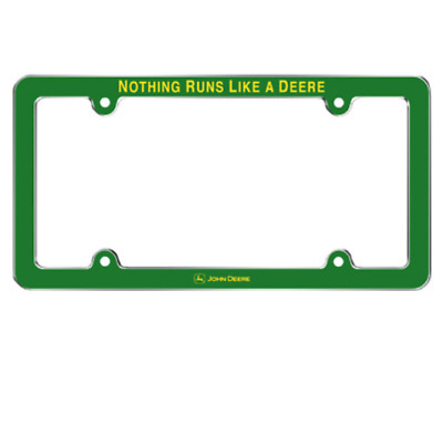 John Deere NRLAD License Plate Frame #LP66185