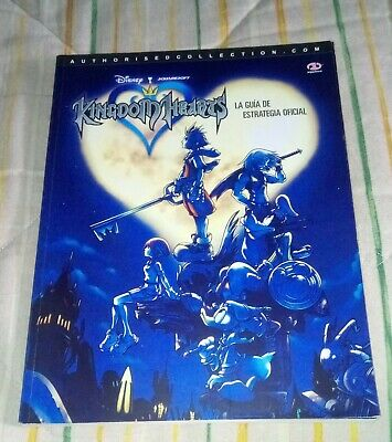 Guia Kingdom Hearts ps2 playstation 2 pal España español oficial